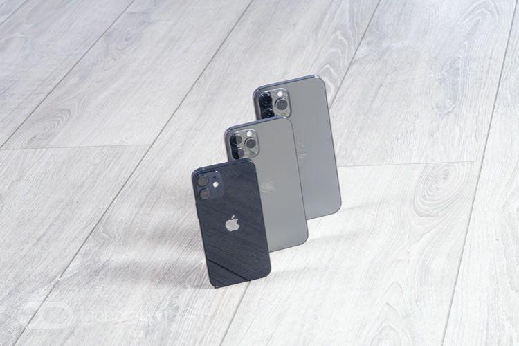 image en galerie : Coup d'œil sur le petit iPhone12 mini et l'énorme iPhone12 Pro Max