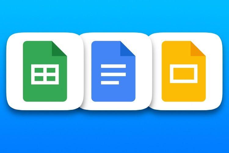 Google Docs, Sheets et Slides améliorent leur prise en charge des fichiers Office