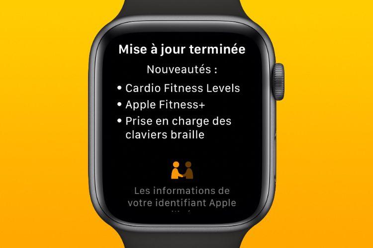 Apple Fitness+ devrait être lancé avec la version finale de watchOS7.2