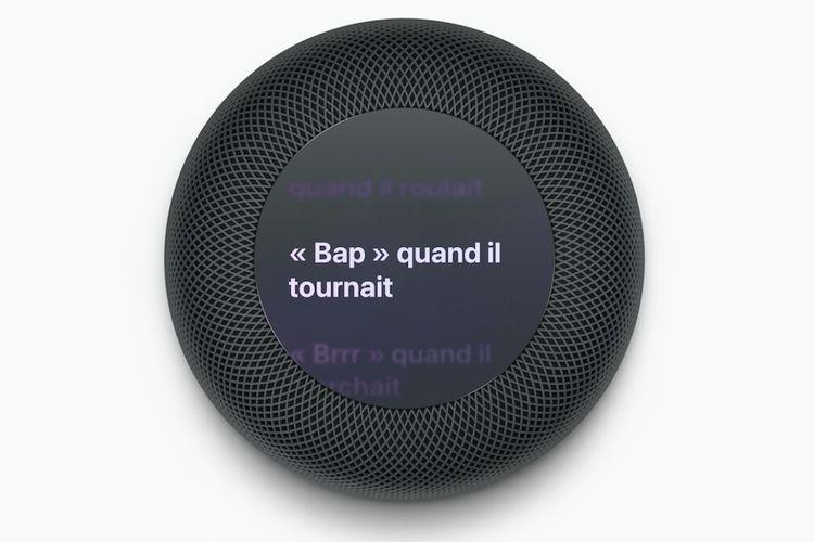 Concept vidéo : un HomePod à écran OLED
