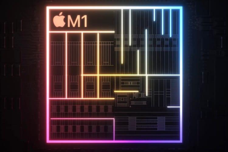 Apple a créé un seul Apple M1 pour tous ses Mac, même le MacBookAir de base
