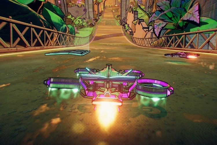 Apple Arcade : Warp Drive, un jeu de course bien arcade et bien bourrin