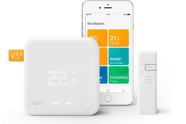 Black Friday HomeKit: thermostat Tado à 109€, Nanoleaf à 89€