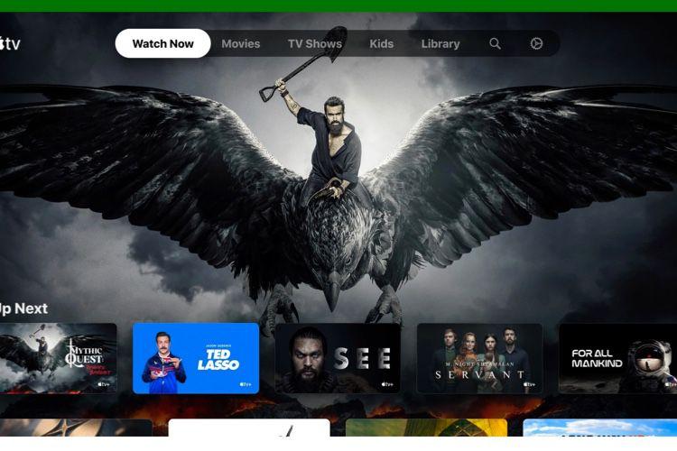 L'app AppleTV disponible sur Xbox One, Series X et Series S le 10 novembre
