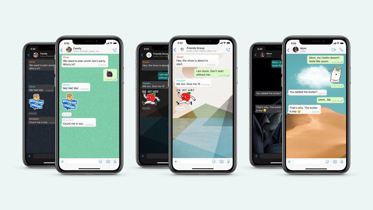 La personnalisation des discussions désormais disponible dans WhatsApp