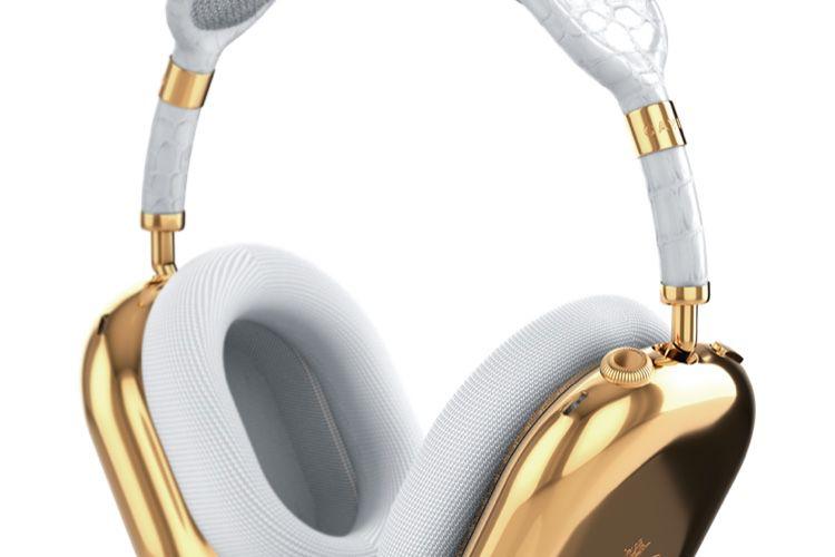 image en galerie : Des AirPods Max à 88 000€ pour briller chez les bling-bling