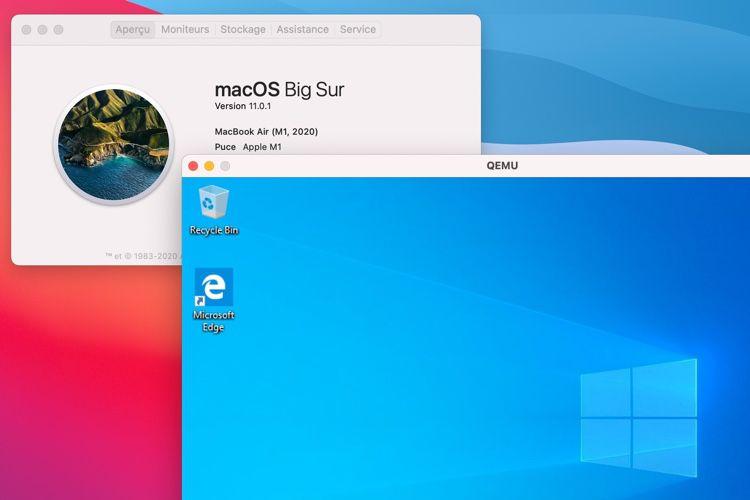 Déjà une bidouille facile pour faire tourner Windows 10 ARM sur un Mac Apple Silicon