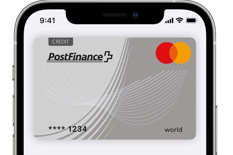 Suisse : Apple Pay arrivera chez PostFinance en2021