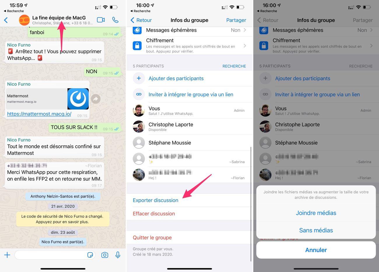 La majorité des utilisateurs de Whatsapp ont déclaré qu'ils n'utiliseraient pas les