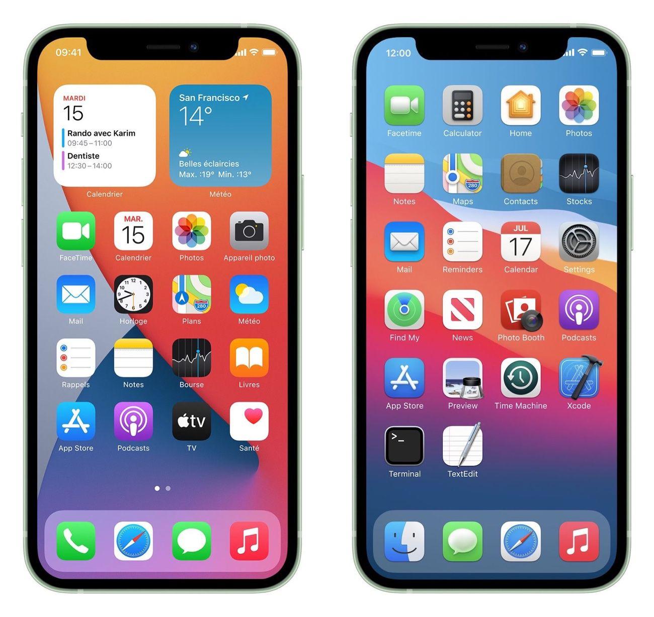 Il serait plutôt sympa, cet iOS Big Sur