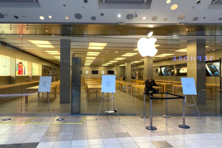 T1 2021 : Apple aurait pu faire encore mieux sans les fermetures de magasins
