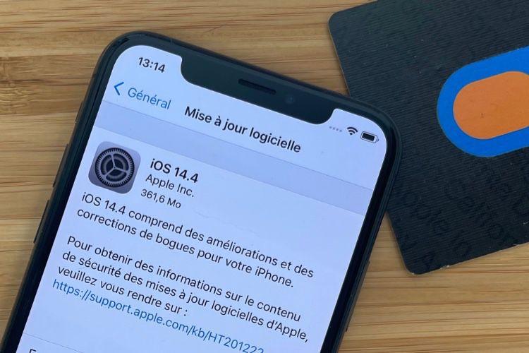 iOS 14.4 corrige trois grosses failles exploitées activement