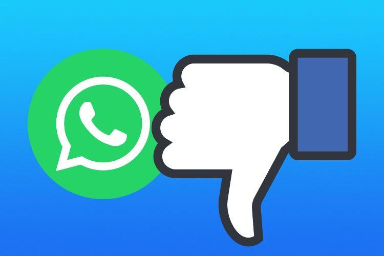 WhatsApp repousse de trois mois le partage des données avec Facebook