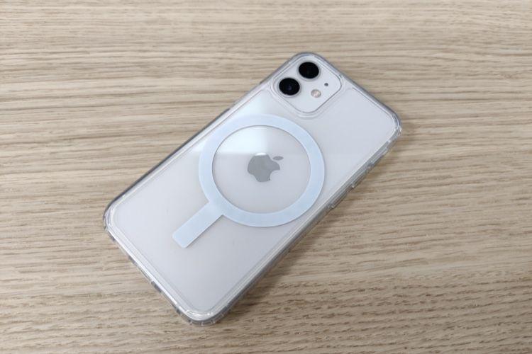 Aperçu d'une coque MagSafe pas chère pour iPhone 12