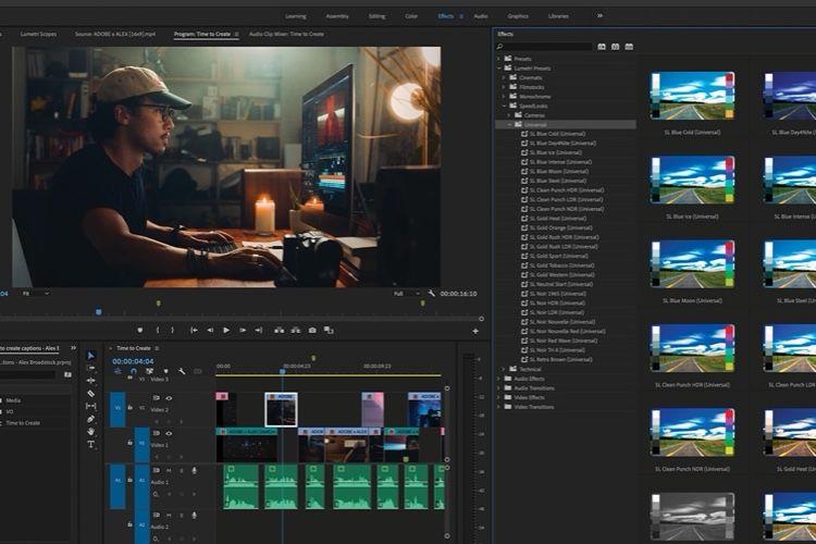 Adobe veut rendre l'interface d'Audition et Premiere Pro plus inclusive