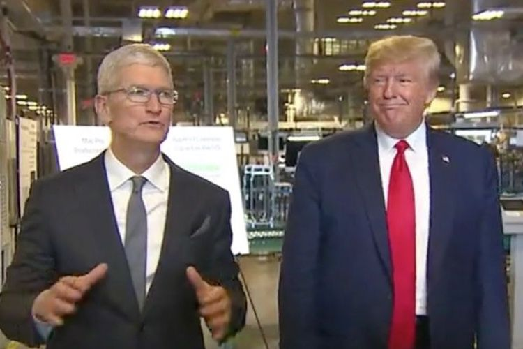 Tim Cook avait offert le premier Mac Pro 2019 à Donald Trump