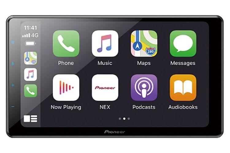 Pioneer : un écran CarPlay et son boîtier à installer où on veut dans la voiture