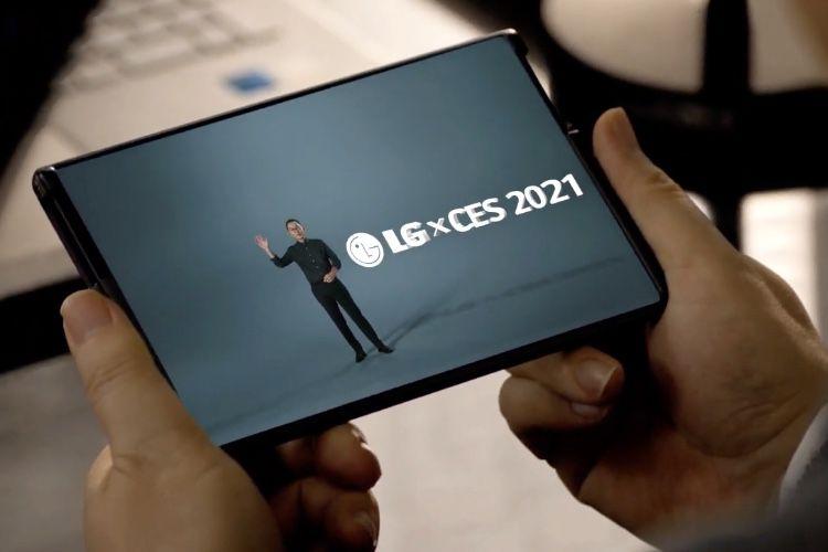 LG va lancer un smartphone à l'écran qui s'enroule et se déroule