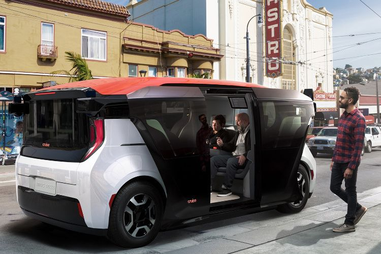 Microsoft investit dans l'automobile autonome de Cruise (GM)
