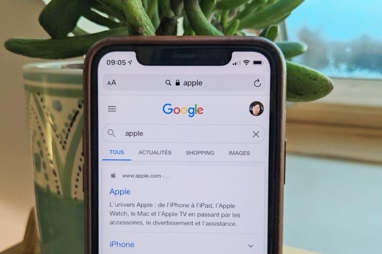 Apple justifie le choix de Google comme moteur par défaut par sa popularité