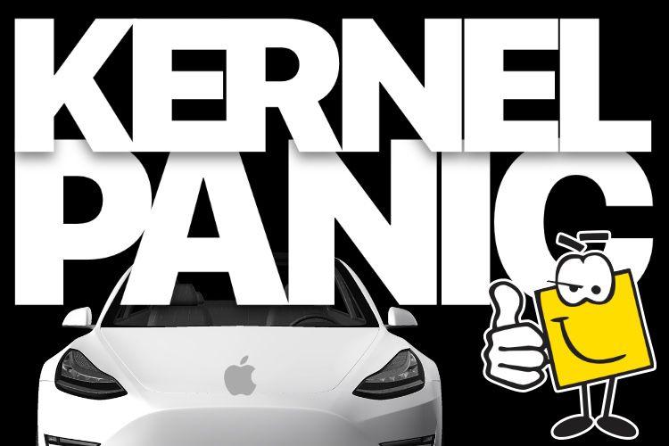 Kernel Panic #13 : à quoi va ressembler la voiture Apple ?