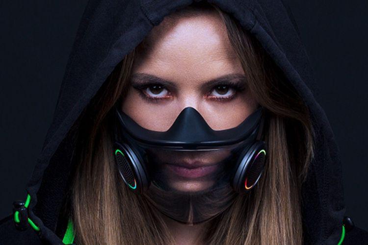 video en galerie : Razer a développé son propre masque de protection, avec des LED évidemment