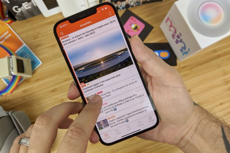 Retest du grand iPhone 12 Pro Max