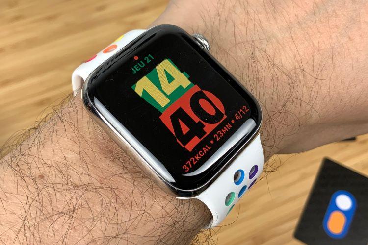 Un nouveau cadran Unité dans watchOS 7.3 🆕