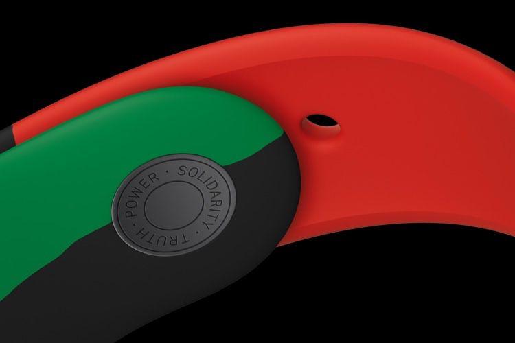 Un nouveau bracelet Sport «Black Unity» rouge, noir et vert!