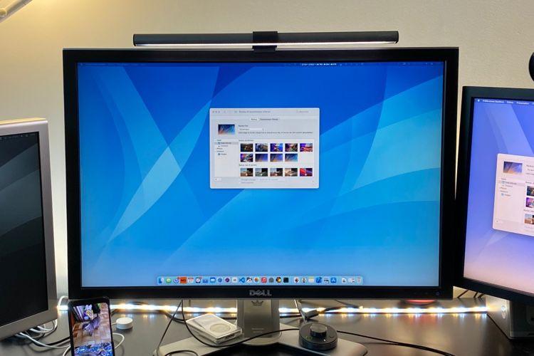 Aqueux, une version moderne et dynamique du fond d'écran de MacOSXTiger