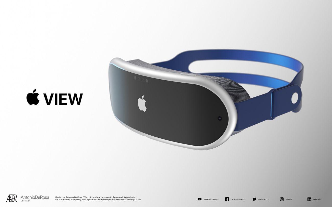 Apple View : un concept de casque AR qui s