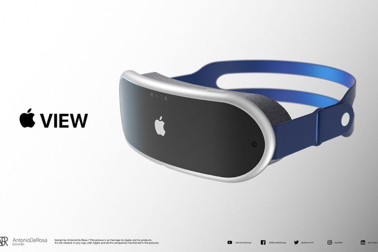image en galerie : Apple View : un concept de casque AR qui s'inspire des rumeurs