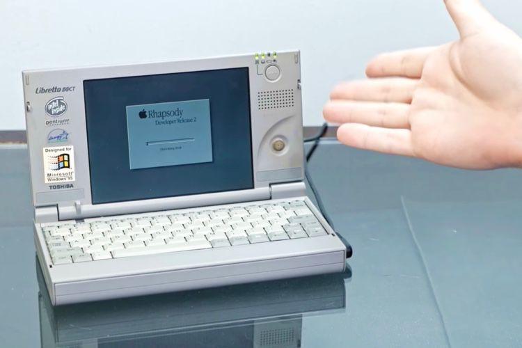 image en galerie : Un hackintosh dans un Toshiba Libretto de 1996