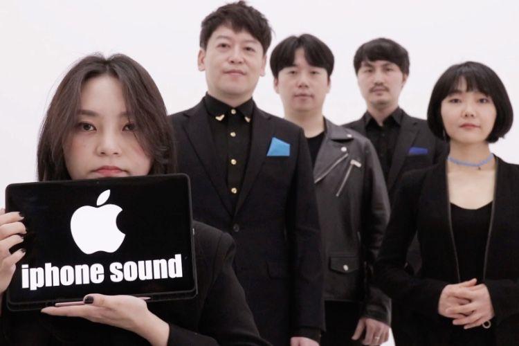 video en galerie : Ce quintette reproduit à la perfection les sonneries de l'iPhone a capella