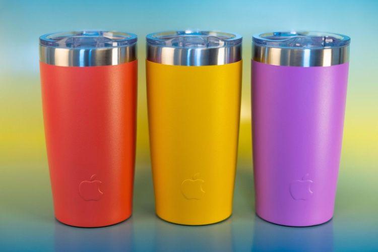 image en galerie : Les employés d'Apple qui mangeront sainement pourront remporter un gobelet coloré 🥤
