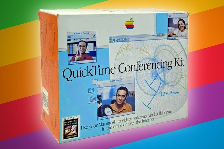 image en galerie : Oubliez Zoom et Teams, passez au QuickTime Conferencing Kit!