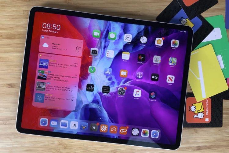 Des références à la puce A14X dans le code d'iPadOS 14.5