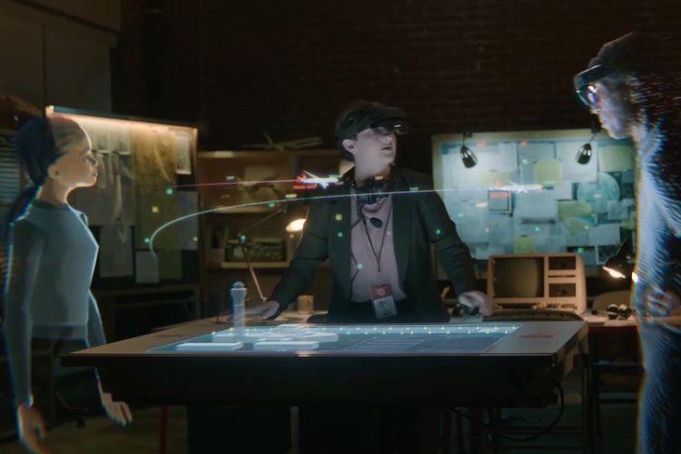Microsoft Mesh : les utilisateurs de réalité virtuelle et de réalité augmentée dans un même lieu