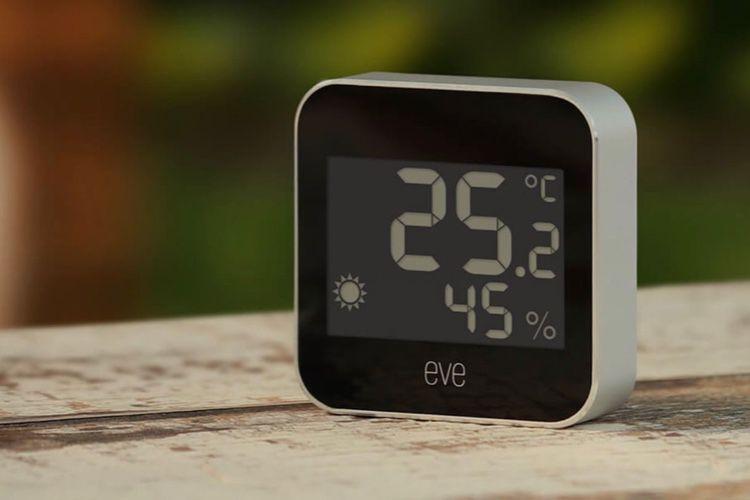 HomeKit : Eve met du Thread dans sa station météo avant son contrôleur d'eau