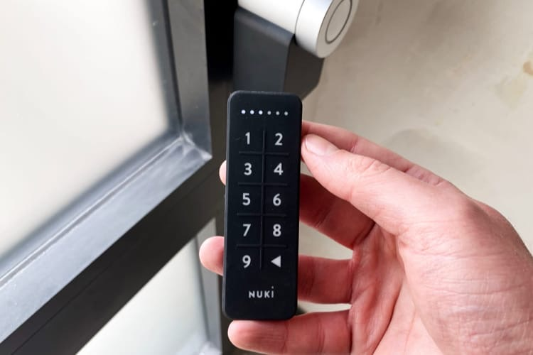 Promo: la serrure connectée Nuki avec le pavé numérique à 279€ au lieu de 329