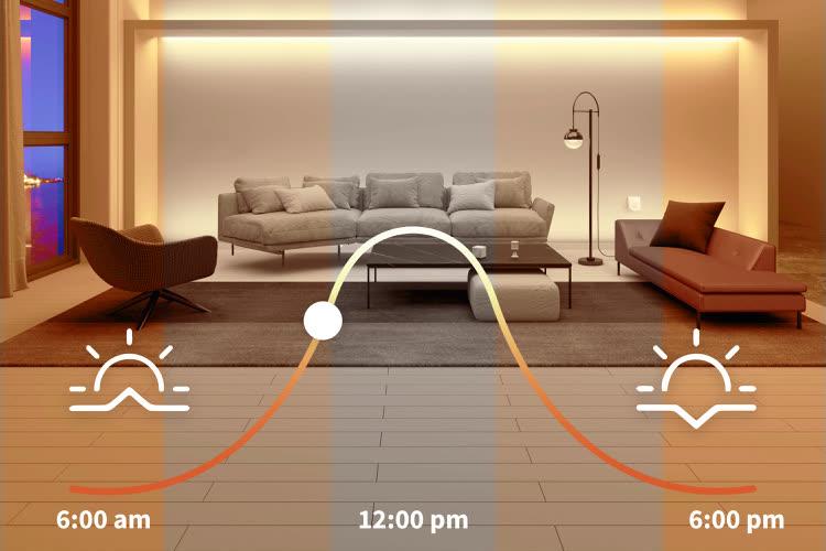 Aqara commence à activer l'éclairage adaptatif pour ses ampoules