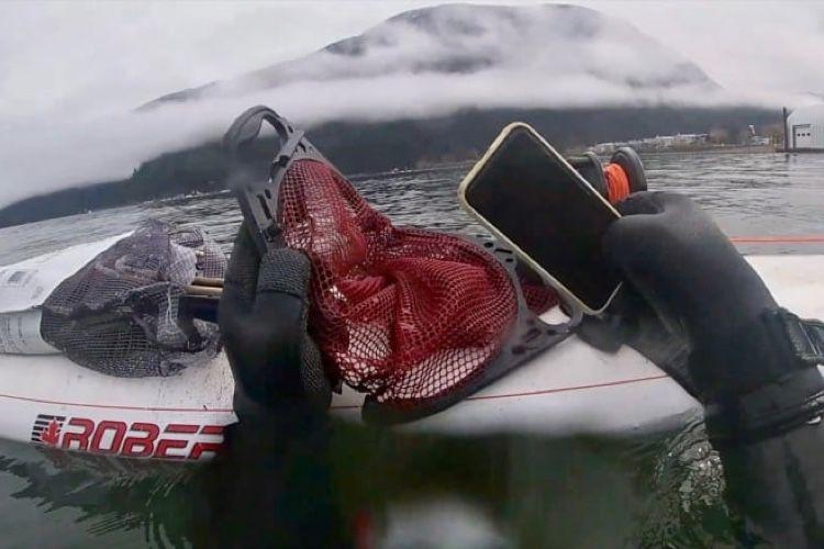 video en galerie : Un iPhone 11 sauvé des eaux retourne à sa propriétaire