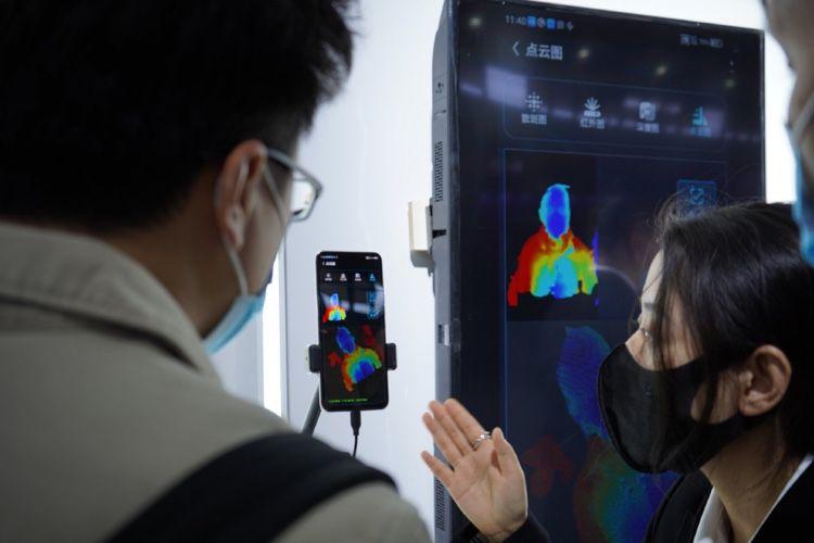 ZTE promet une caméra sous l'écran compatible avec la reconnaissance faciale