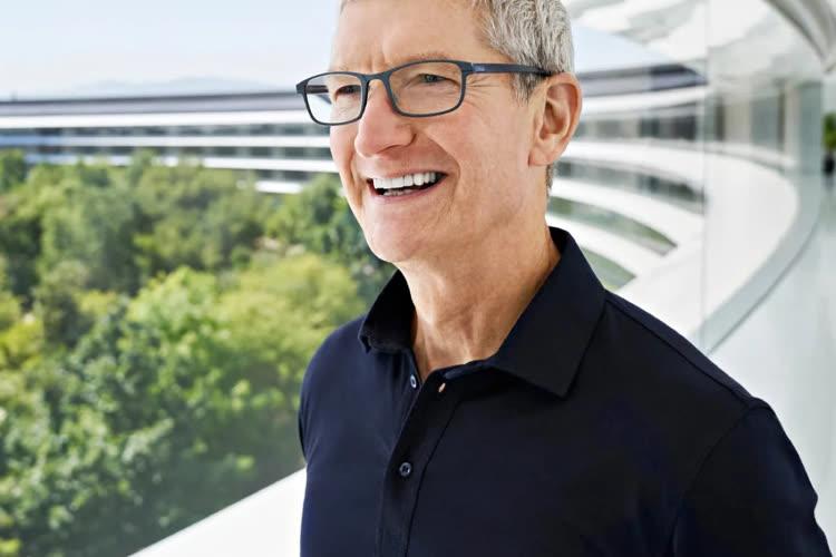Cook : Apple cherche une organisation du travail hybride