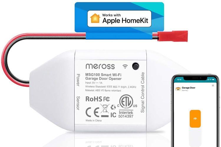 Promo: le module pour porte de garage HomeKit de Meross à 30€