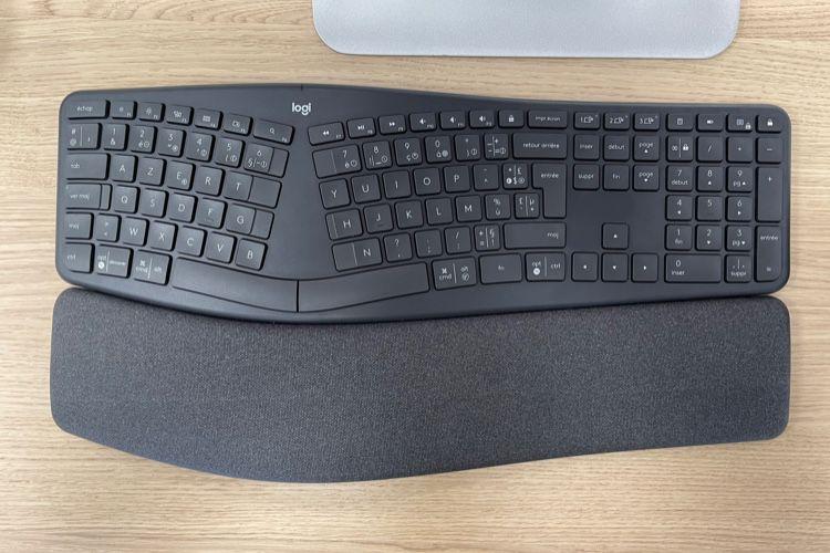 Aperçu du clavier ergonomique Logitech Ergo K860 en vente en France à 119€