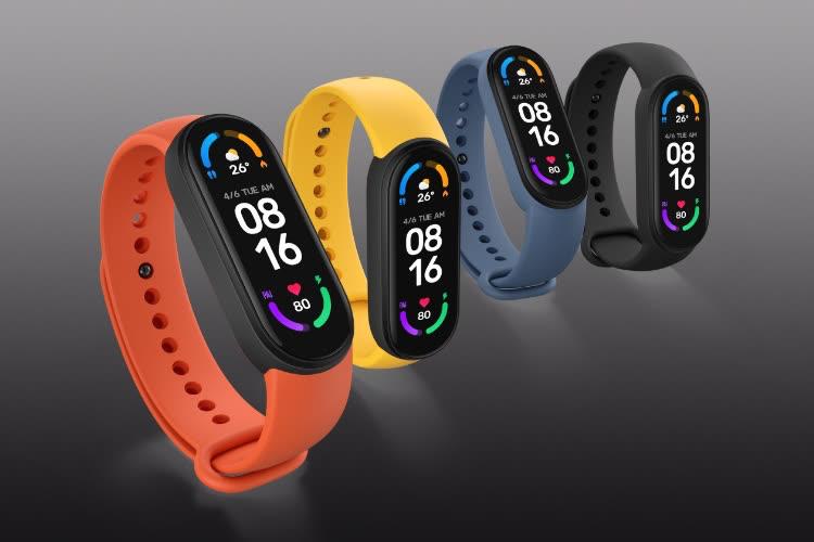 De nouveaux bracelets Mi Band chez Xiaomi