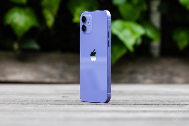 Les iPhone12 mauves se dévoilent en photo et vidéo