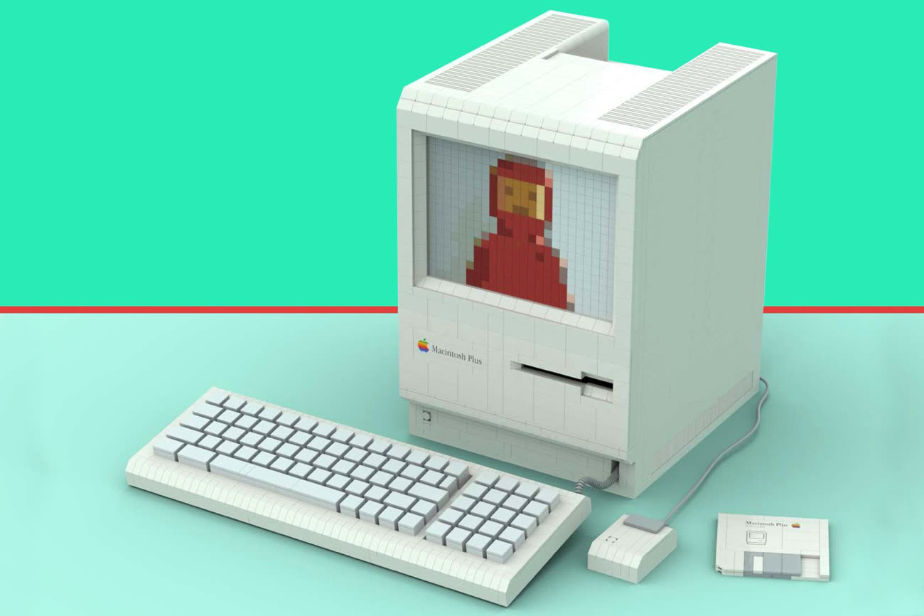 Un Macintosh Plus en Lego ? C