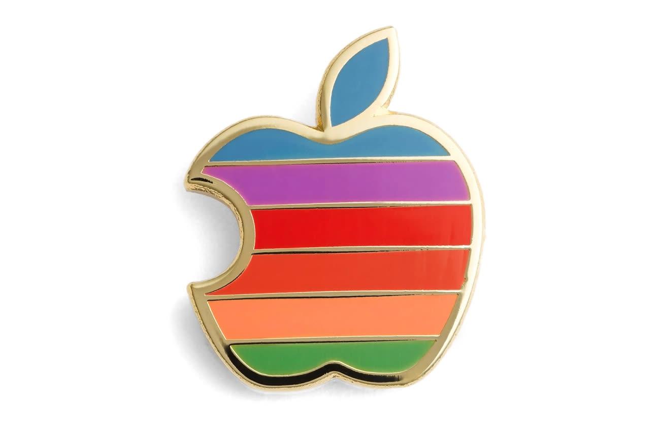 Piquer le logo Apple, c